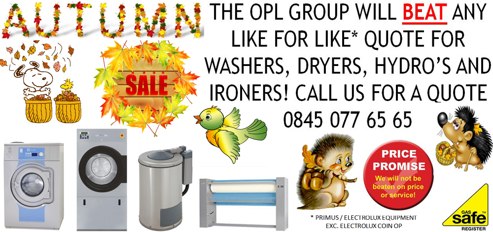 Commercial Laundry Equipment Sale